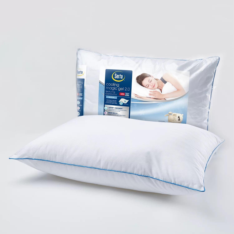serta cooling magic gel 2 0 bed pillow