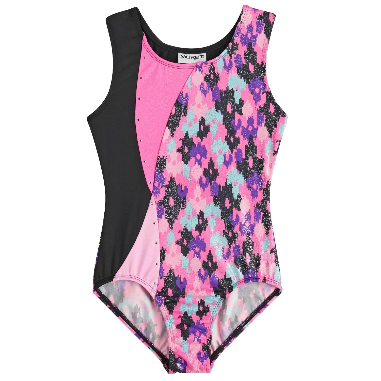 also girls jacques moret blotchy spots gymnastics leotard rh kohls