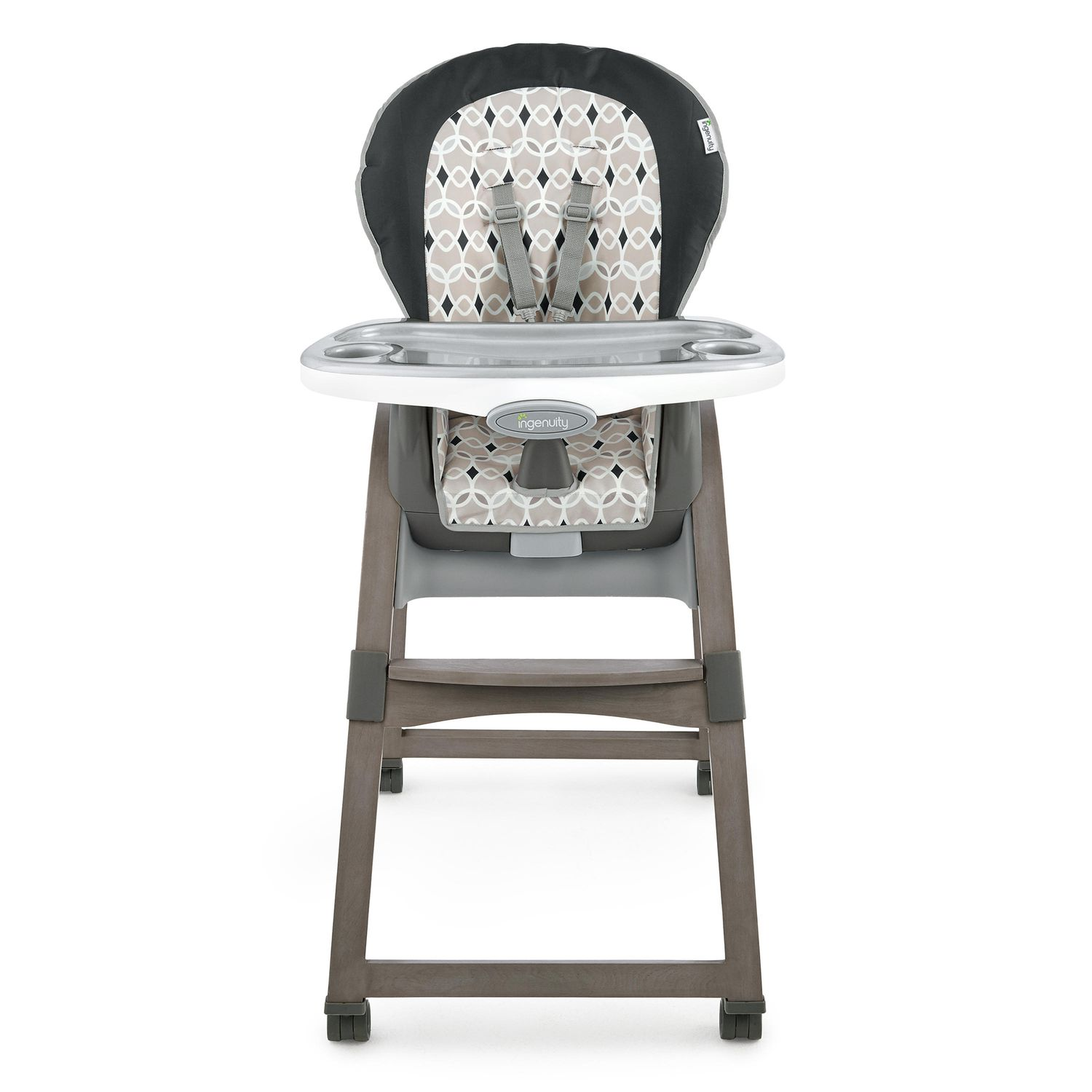 high chairs for babies chair covers baby kohl s ingenuity trio 3 in 1 wood