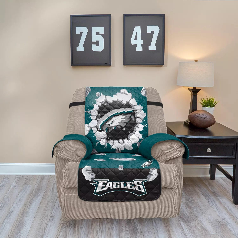 philadelphia eagles chair circle swivel cover breakthrough recliner
