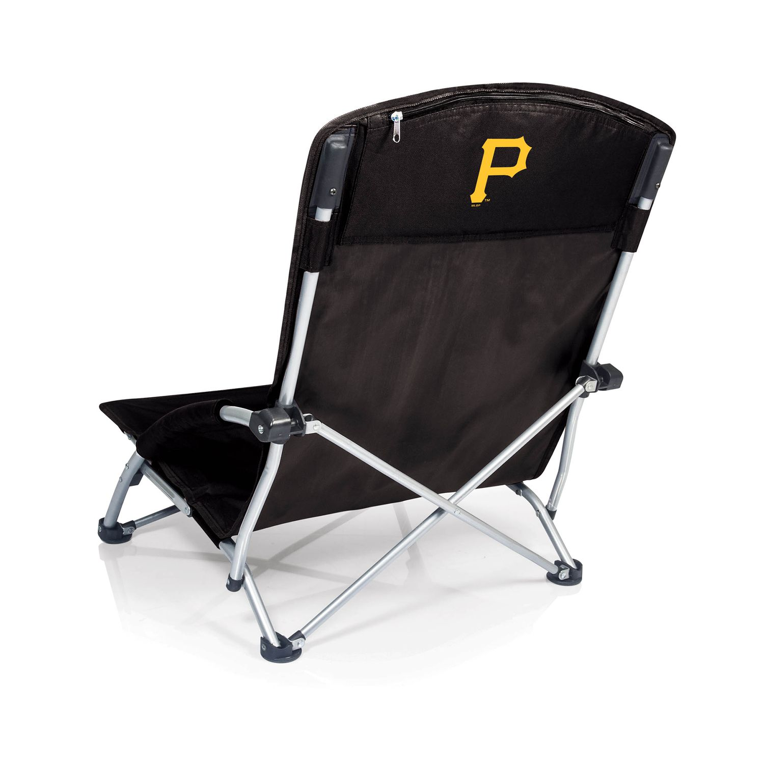 portable beach chair aluminum lawn chairs picnic time pittsburgh pirates tranquility