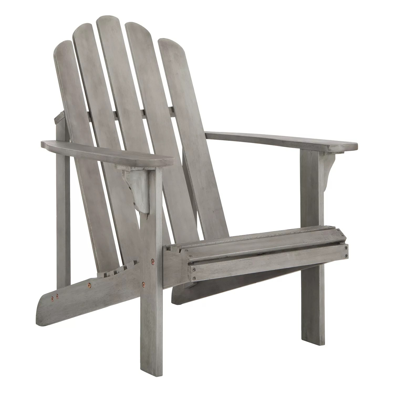 gray adirondack chairs dining table and argos grey furniture kohl s safavieh topher indoor outdoor chair