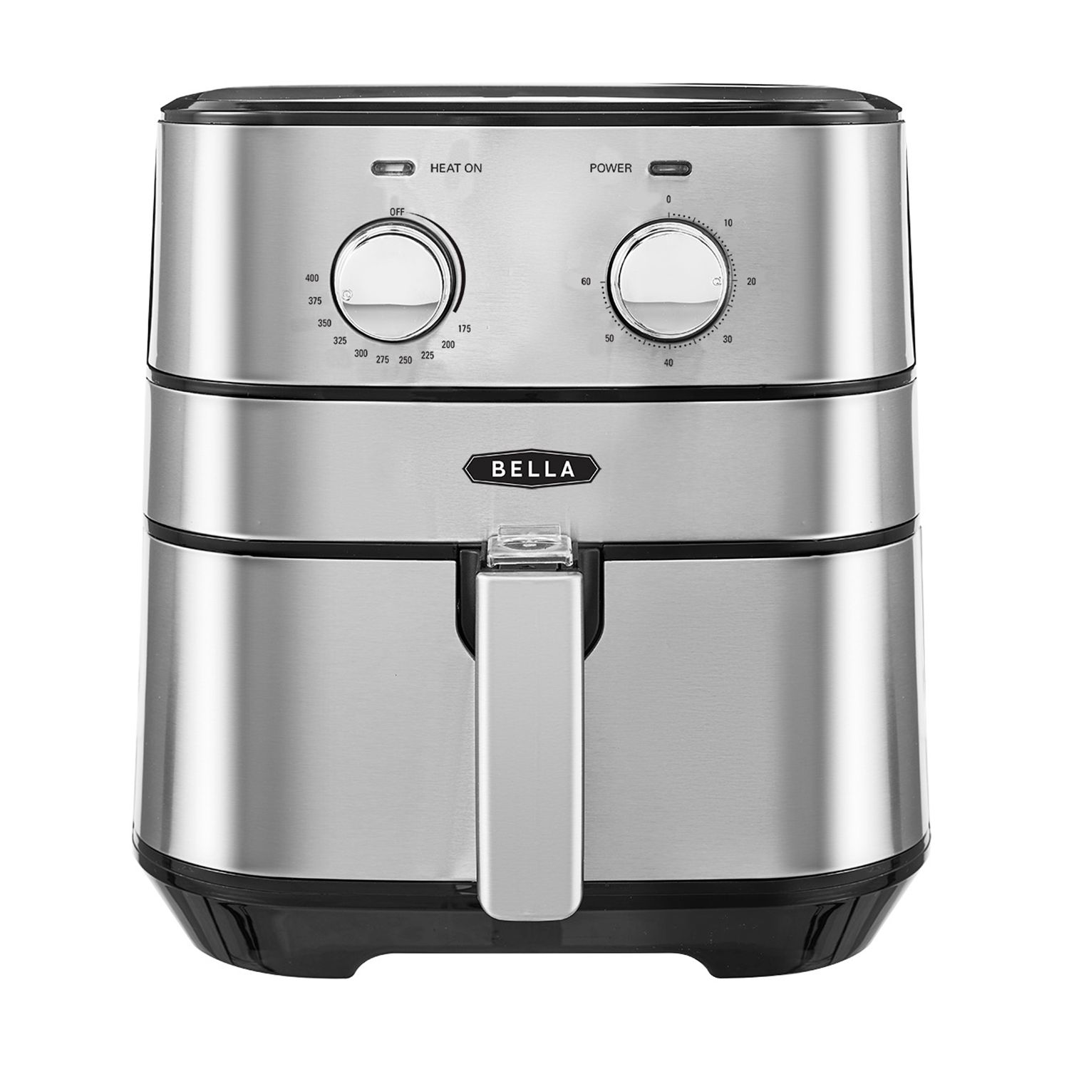 bella kitchen cabinet updates dining kohl s 5 3 qt stainless steel air fryer