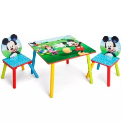 Mickey Mouse Clubhouse Bean Bag Chair Fixing Wooden Chairs Disney Furniture Kohl S Table Set By Delta Children