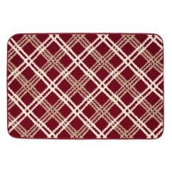 Red Kitchen Rugs Rubber Mats Home Decor Kohl S Sonoma Goods For Life Plaid Comfort Rug Gray Neutral