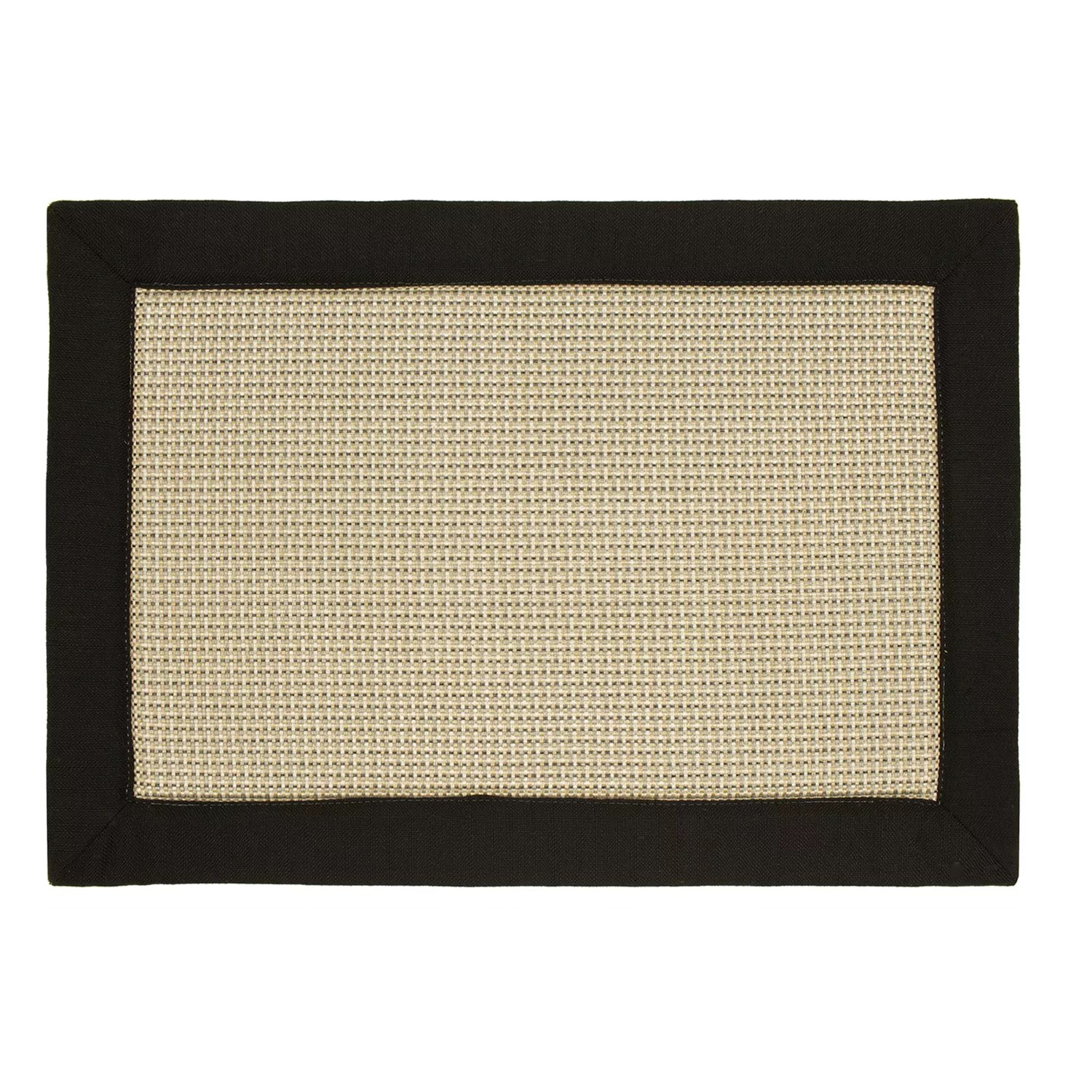 black kitchen rugs counter options home decor kohl s sonoma goods for life memory foam rug