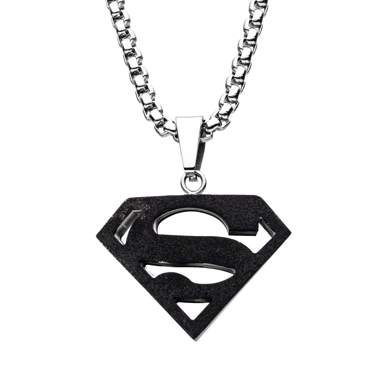 dc comics superman black