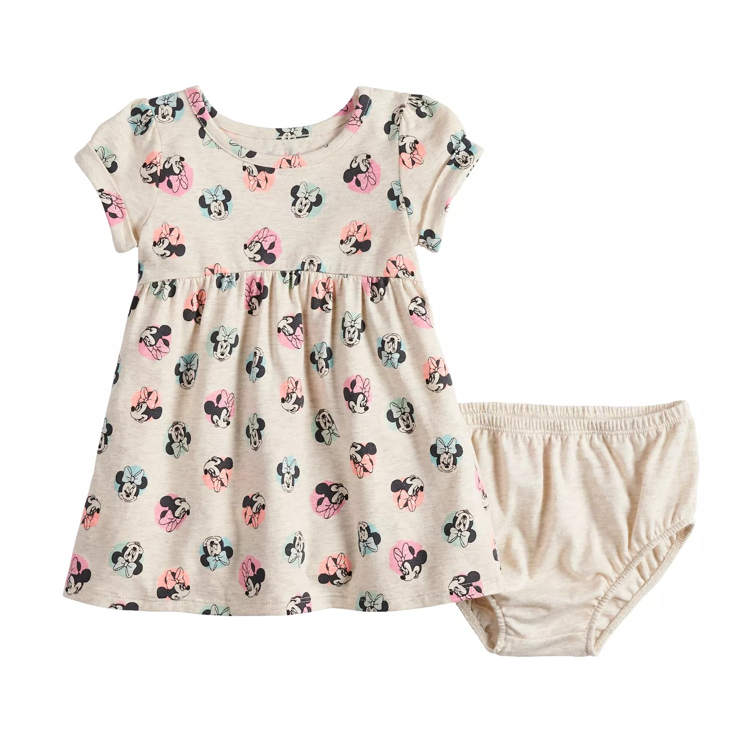 also disney   minnie mouse baby girl babydoll dress by jumping beans rh kohls