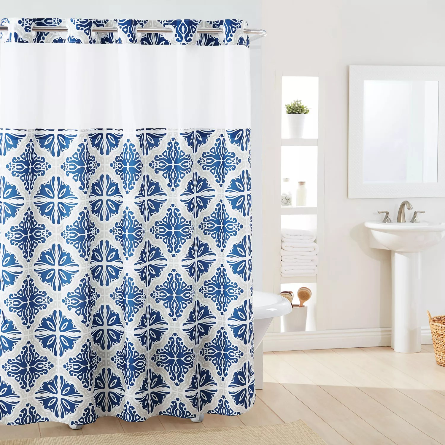 hookless shower curtains shop for