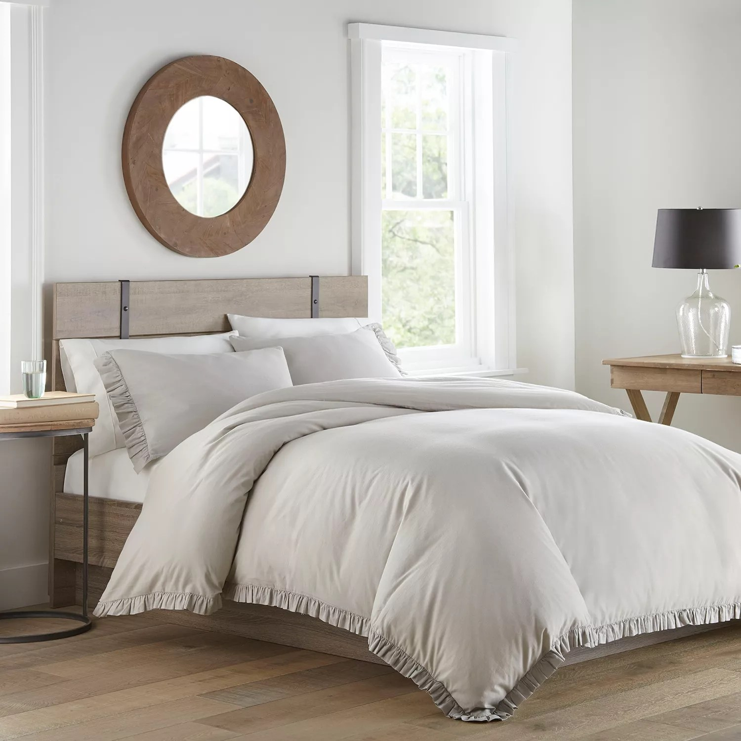 stone cottage asher grey comforter set full queen