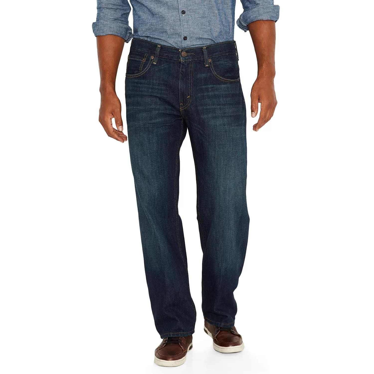 Mens Levis 569 Loose Straight Fit Jeans