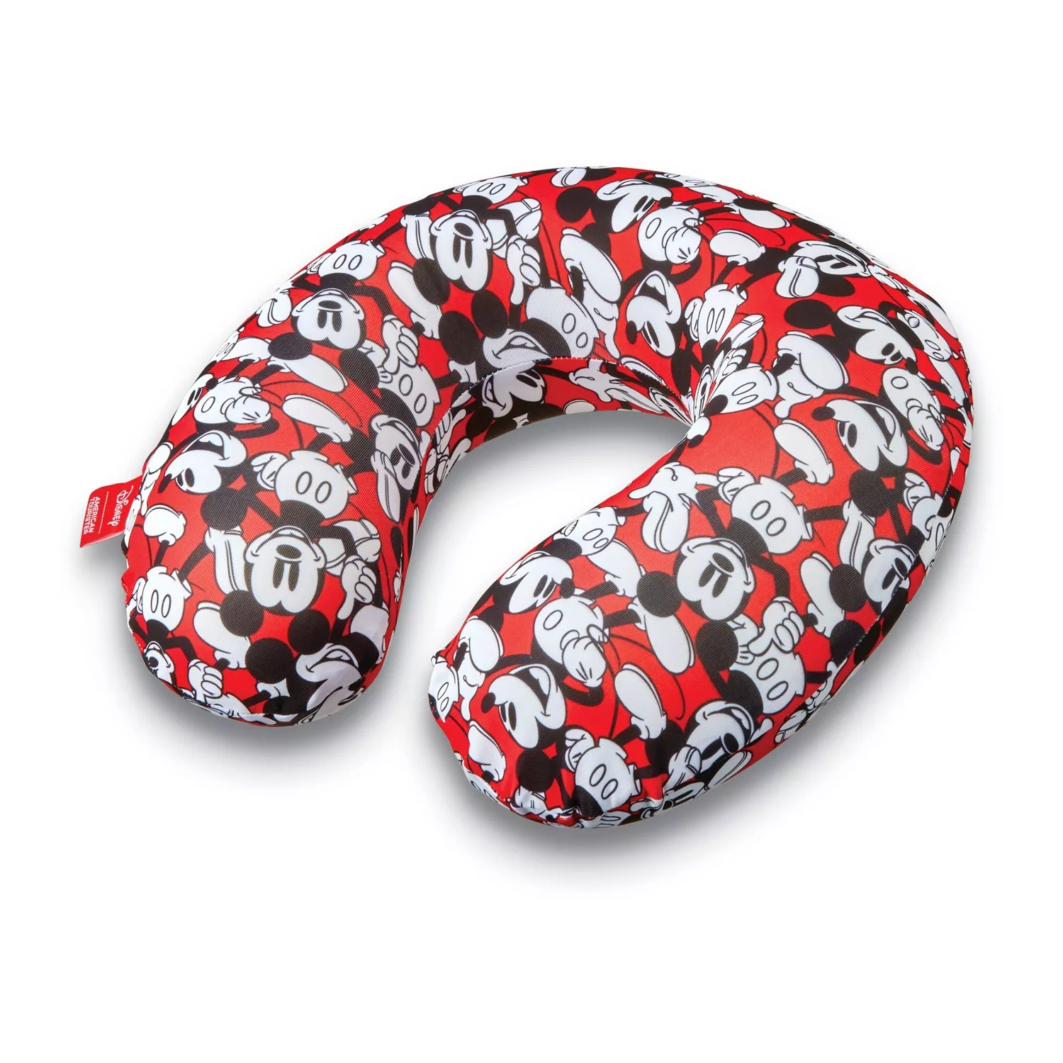 american tourister mickey mouse travel neck pillow