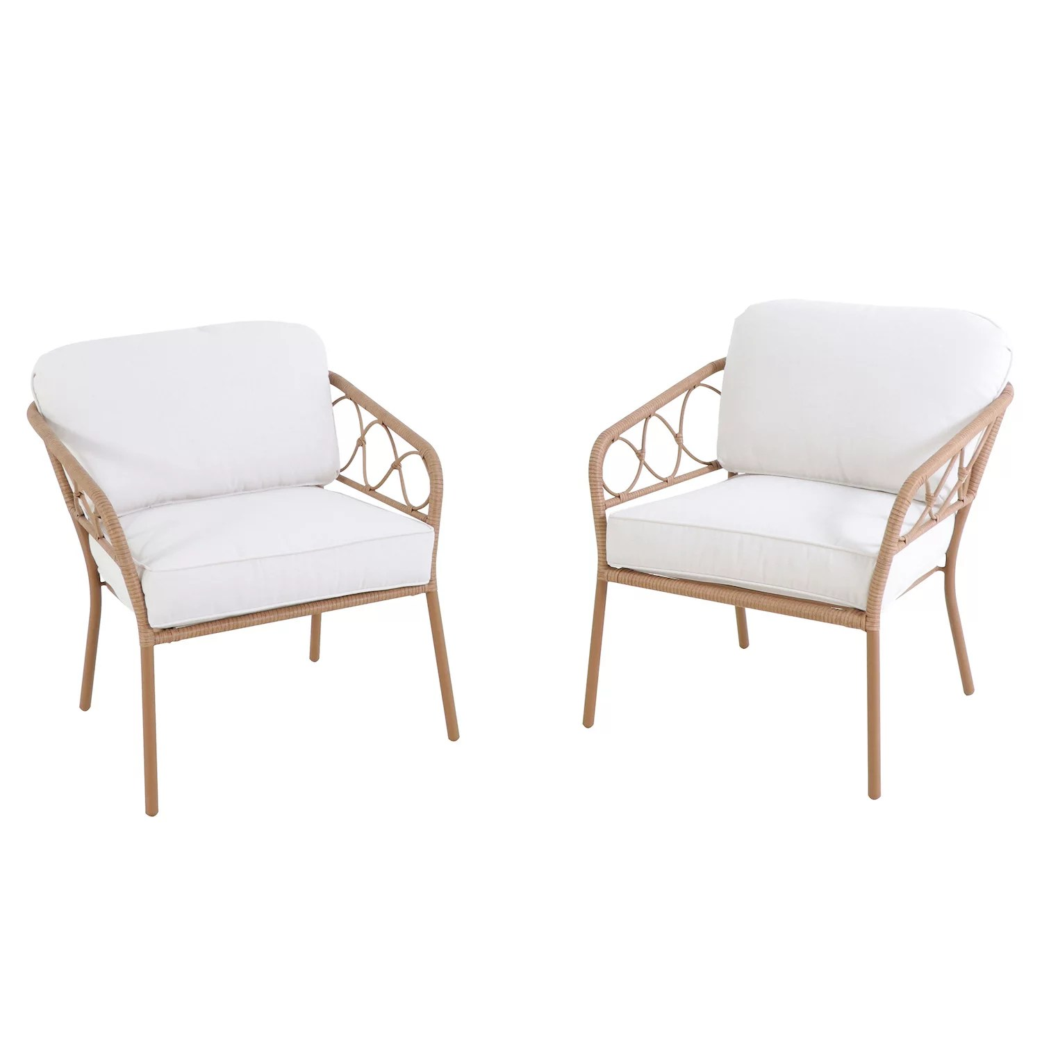 sonoma goods for life tramonto wicker patio chair 2 piece set