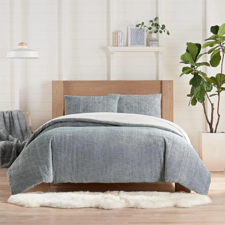 koolaburra by ugg raquel faux fur comforter set with shams