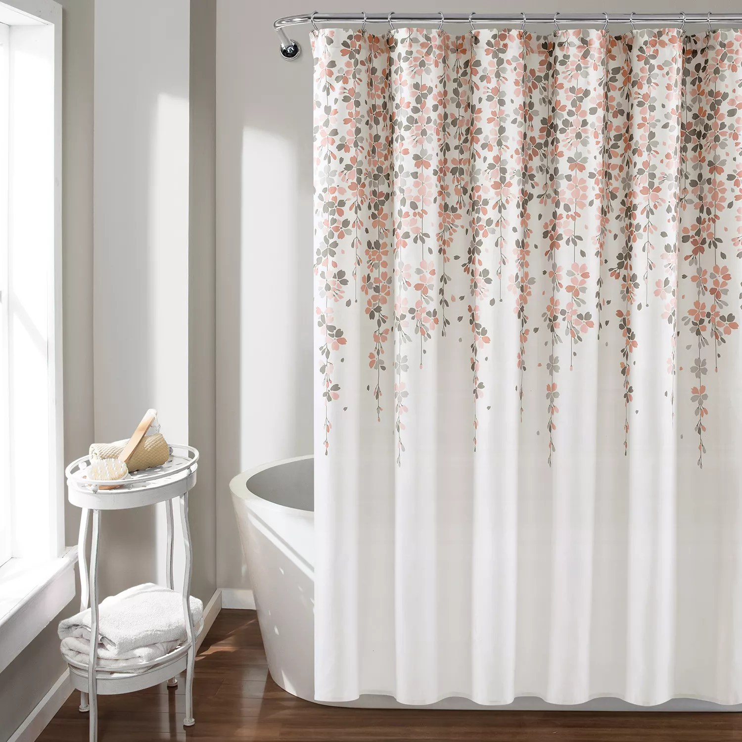 pink shower curtain kohl s