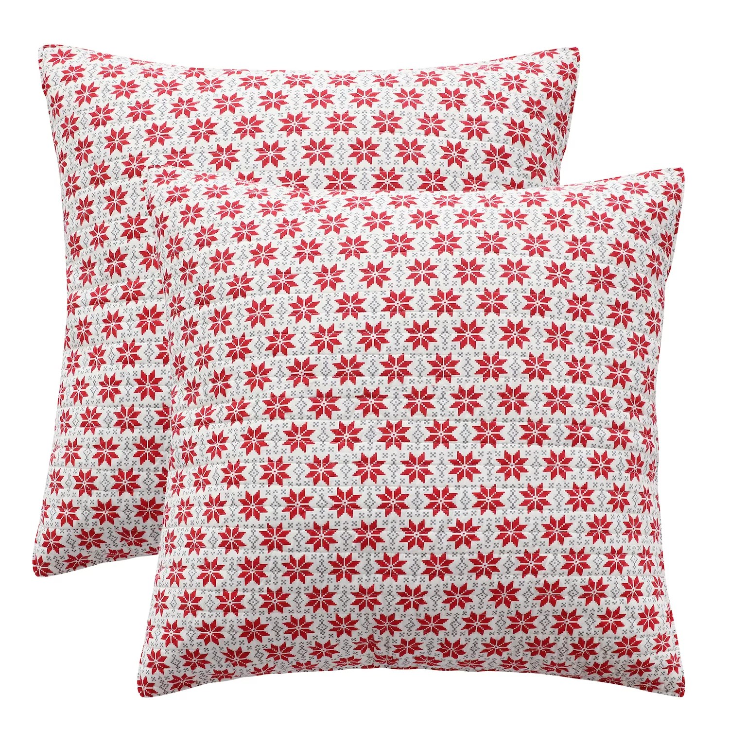 red euro pillows online