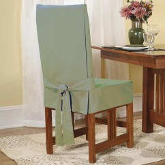 Dining Chairs Slipcovers Tables And For Restaurants Second Hand Sure Fit Short Chair Slipcover