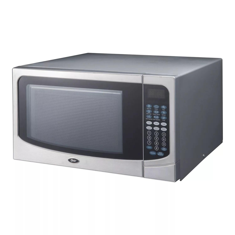 oster 1000 watt countertop microwave