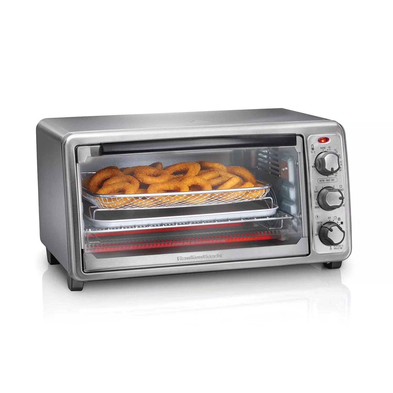 hamilton beach sure crisp air fryer toaster oven