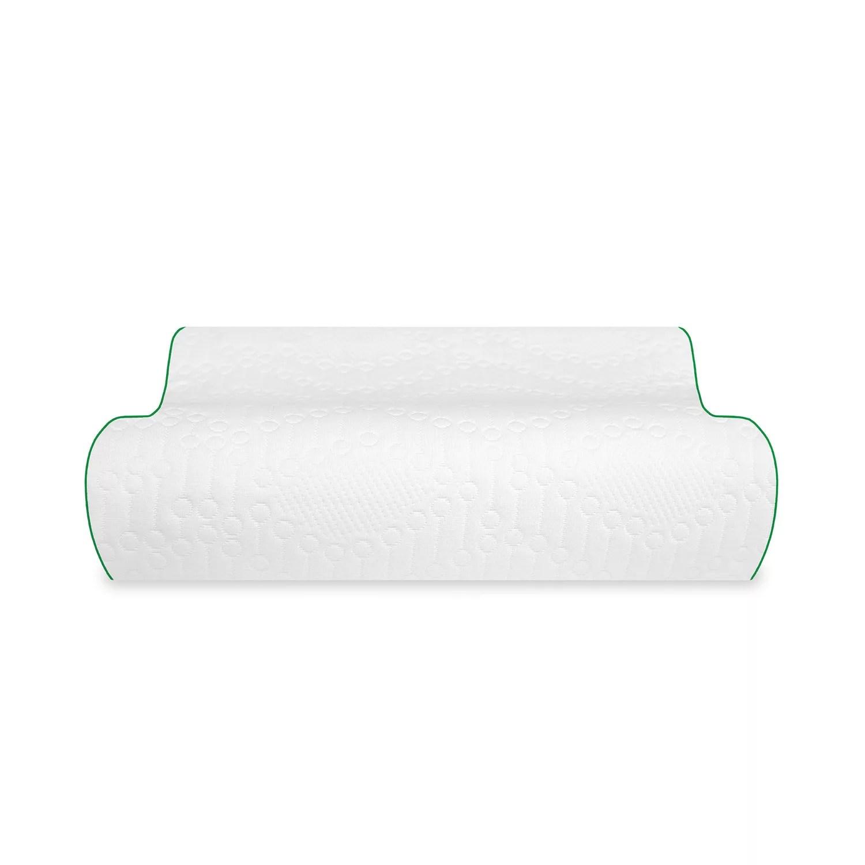 biopedic fresh and clean classic contour memory foam pillow