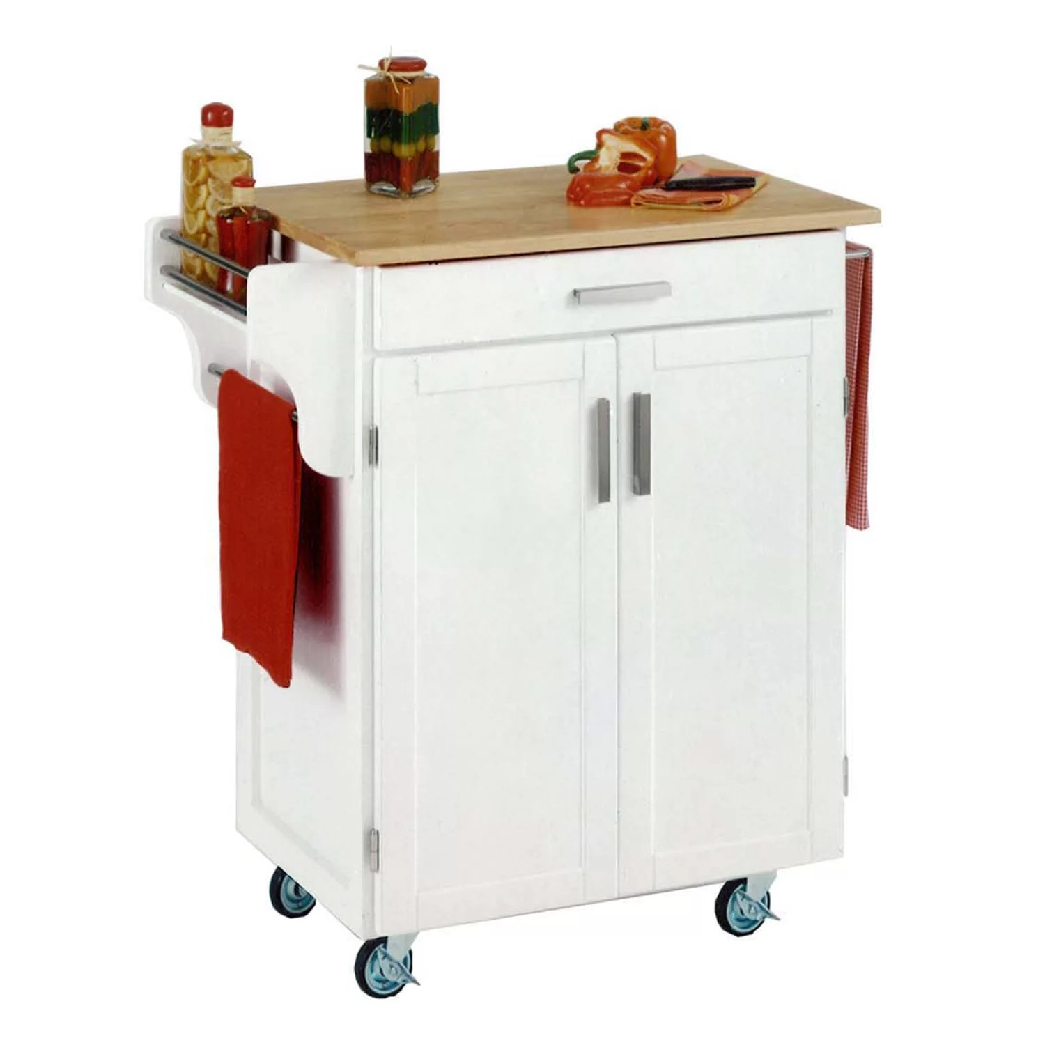home styles kitchen cart tables for sale carts islands furniture kohl s wood top cuisine
