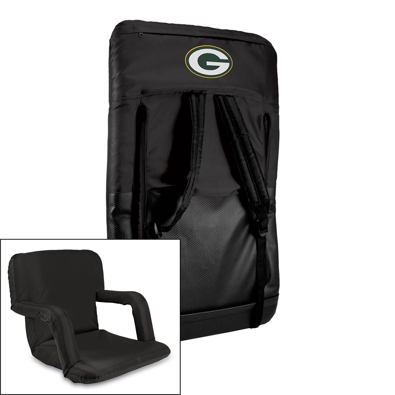 green bay packers chair high back executive picnic time ventura portable