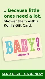 baby shower gifts kohl