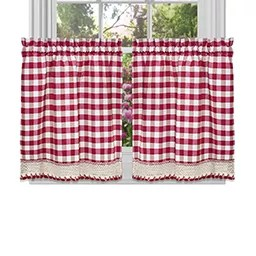 kitchen sheers master forge outdoor curtains shop for window treatments kohl s
