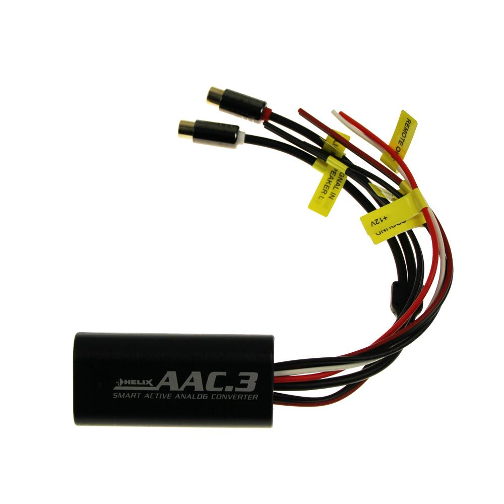 medium resolution of helix aac 3 active analog high low converter 2 channel signal converter maximum speaker input level