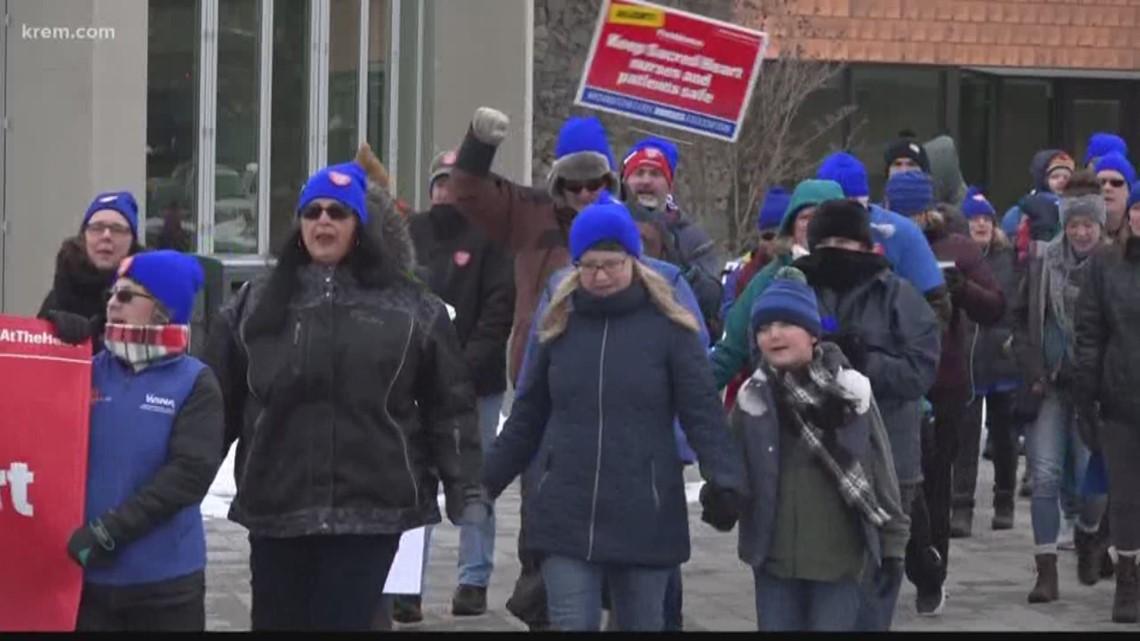 Sacred Heart nurses vote on tentative agreement with