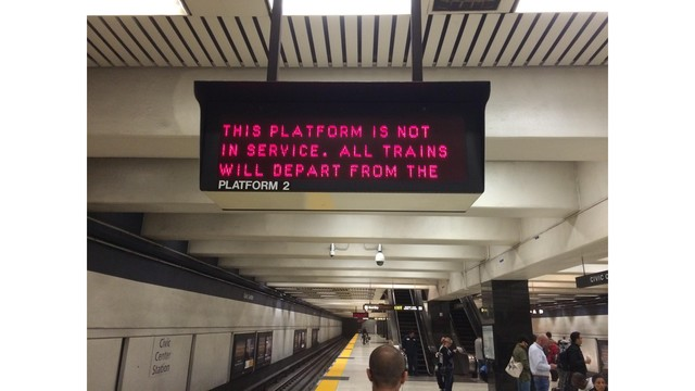 BART Civic Center Station reopened after flooding caused closure