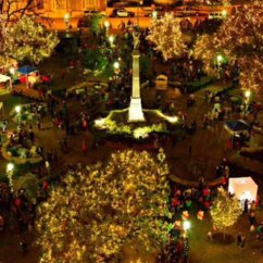 Fiesta Kitchen Table Target Annual Holiday Lighting At Travis Park Features 250,000 Lights