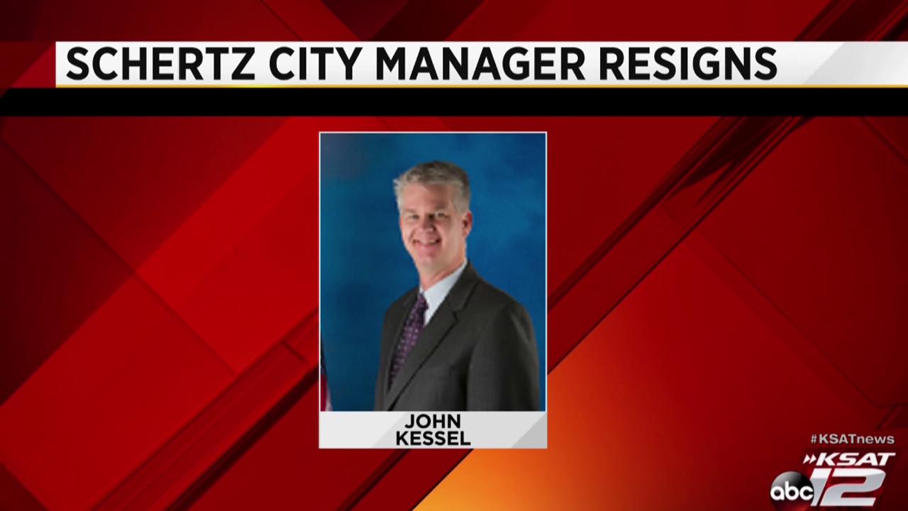 Schertz City Council accepts city managers resignation