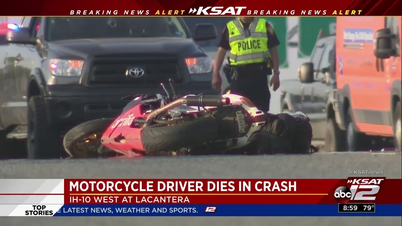 1 Dead In Motorcycle Accident On Wb I 10 At Camp Bullis Exit