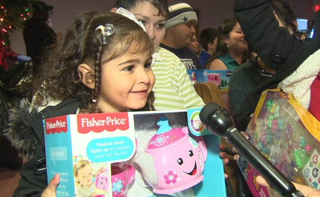 Church Holds Free Toy Giveaway For Families In Need