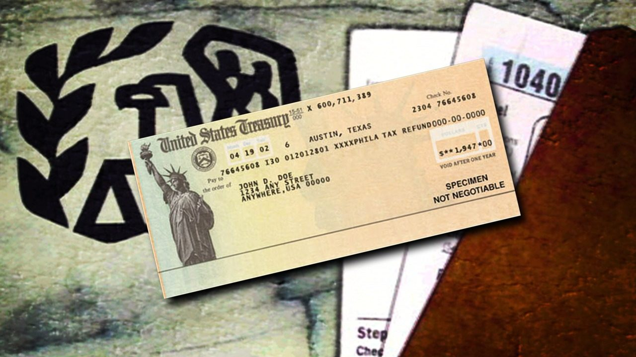 First Irs Refunds Expected Next Week