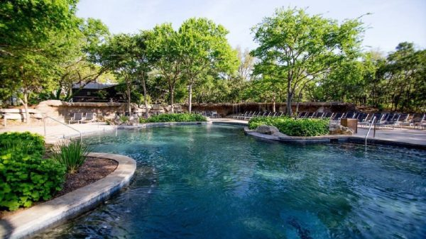 Two of the country's best hotel pools are in San Antonio,...