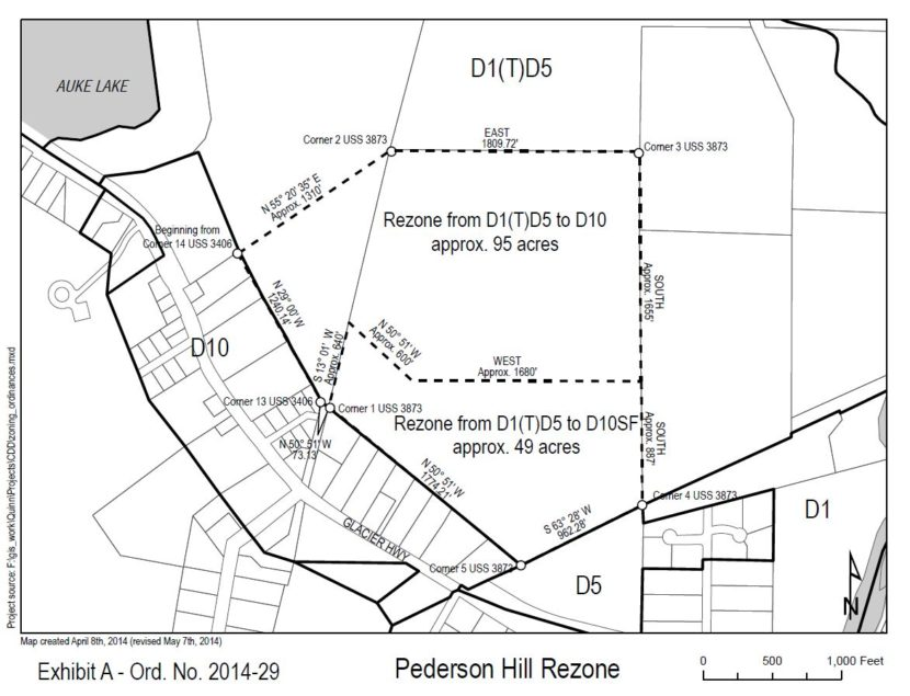 Final vote on Pederson Hill rezone before Juneau Assembly
