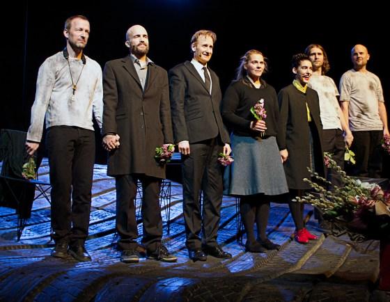 Mats Gustafsson,David Sandström, Gustaf Hammarsten, Vanna Rosenberg, Mariam Wallentin, Andreas Werliin och Johan Berthling