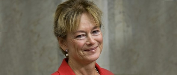 Kulturminister Lena Adelsohn-Liljeroth.