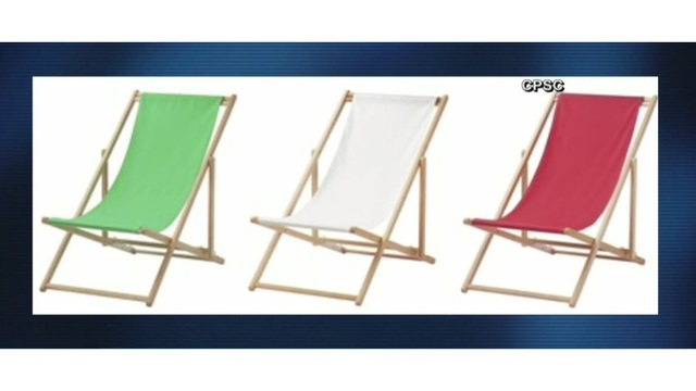 ikea beach chair living room accent chairs with ottomans amputated fingers prompts recall of 30 000