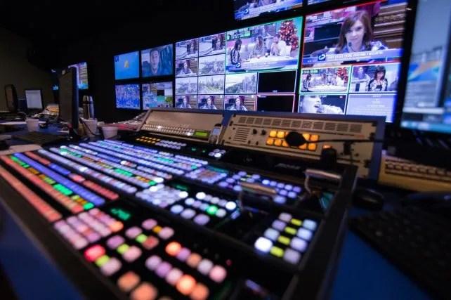 The new central control studio of El Tres