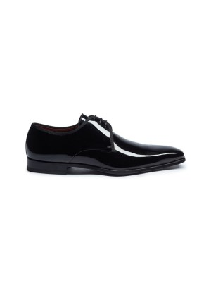 Patent leather Derbies