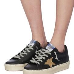 Kitchen Hand Towels Ikea Backsplash Golden Goose | 'hi Star' Leather Flatform Sneakers Women ...