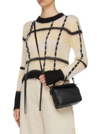 LOEWE  Puzzle mini leather bag  Women  Lane Crawford