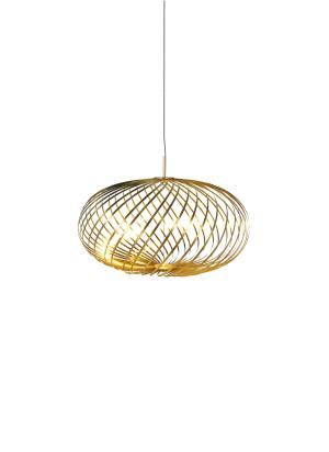 Spring medium pendant light - Brass
