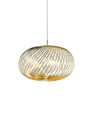 Spring large pendant light - Brass