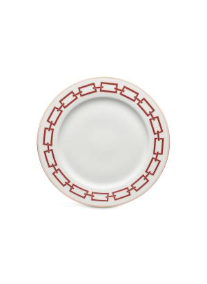 Catene Porcelain Charger Plate - 21cm - Scarlatto