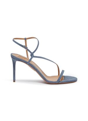 Independent Woman suede sandals