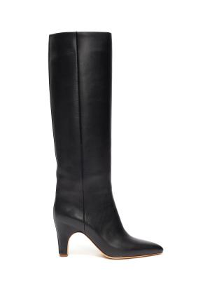'Luther' tall leather boots